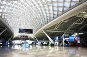 广州高铁车站开窗机