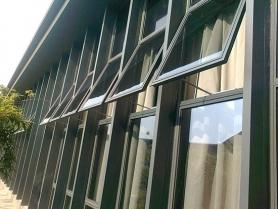 武汉大学电动开窗案例